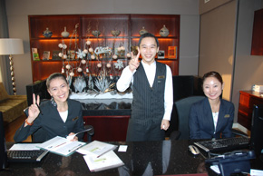 equatorial hotel staff in ho chi minh